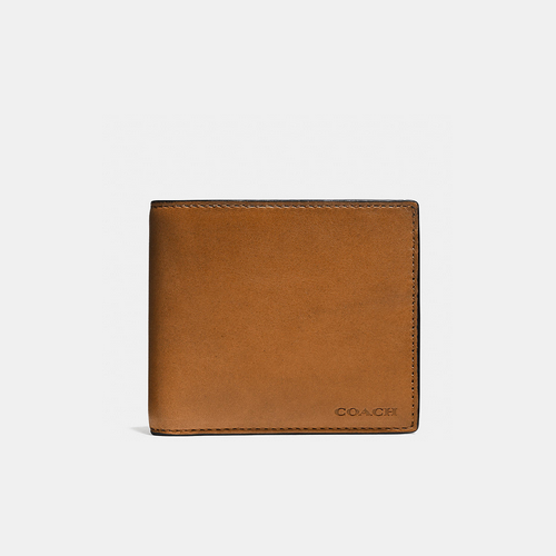 COACH COIN wallet SADDLE