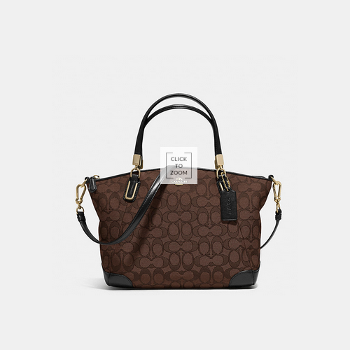 COACH SMALL kelsey crossbody LIGHT GOLD/BROWN/BLACK