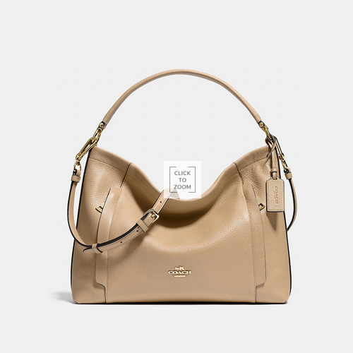 COACH SCOUT hobo LIGHT GOLD/NUDE
