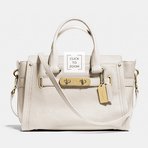 COACH swagger LIGHT GOLD/CHALK