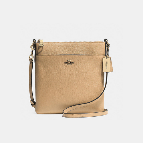 COACH NORTH/SOUTH swingpack LIGHT GOLD/NUDE