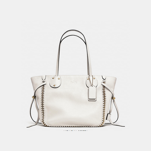 COACH TATUM tote LIGHT GOLD/CHALK