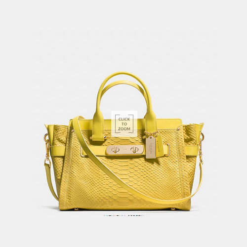 COACH swagger LIGHT GOLD/YELLOW