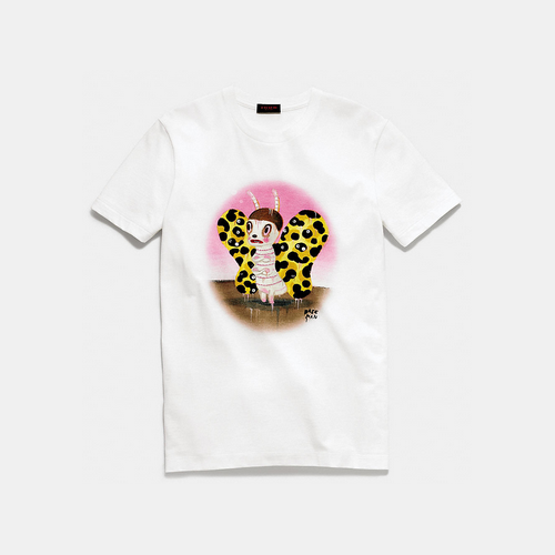 COACH x baseman butch t-shirt SOFT WHITE
