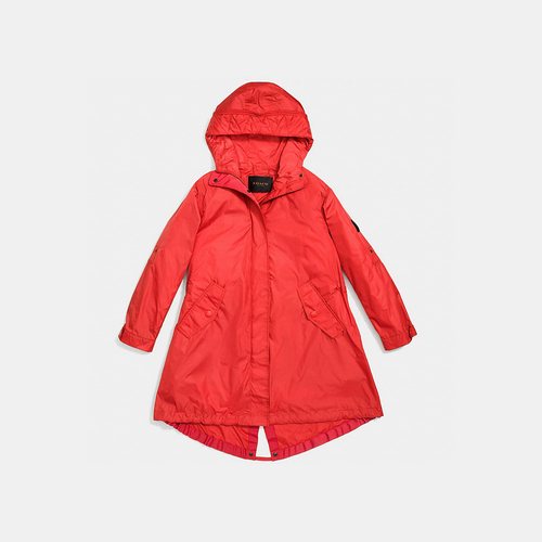 COACH STADIUM parka WATERMELON