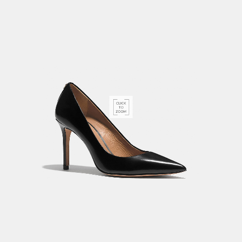 COACH TEDDIE pump BLACK