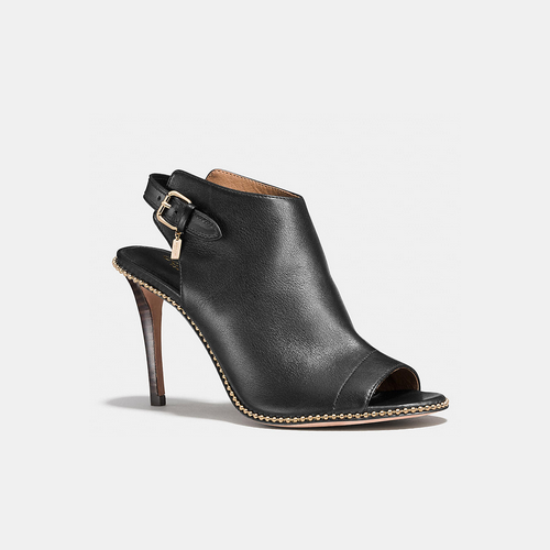 COACH KATE bootie BLACK/BLACK
