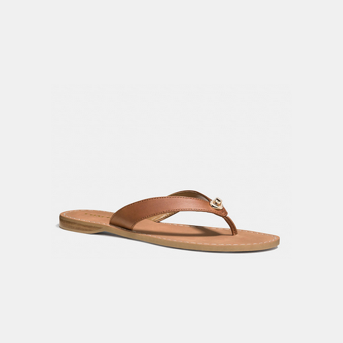 COACH CHAPEL sandal SADDLE