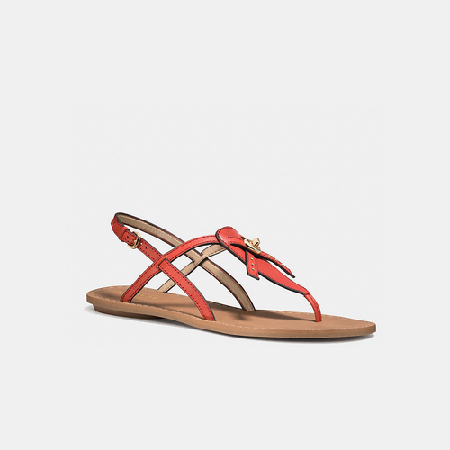 COACH CAMARA sandal WATERMELON