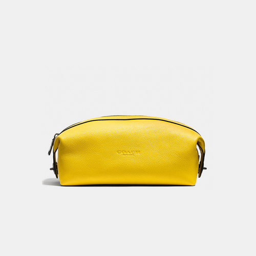 COACH DOPP kit YELLOW