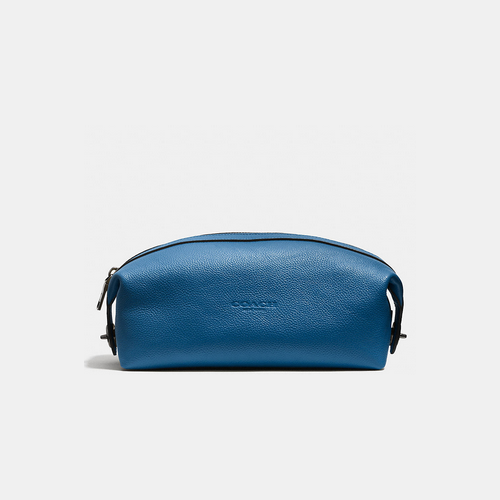 COACH DOPP kit DENIM