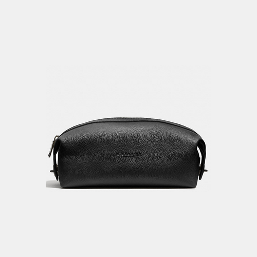 COACH DOPP kit BLACK