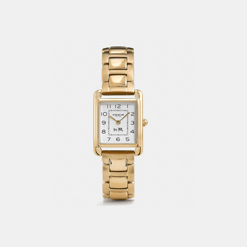 COACH PAGE gold plated bracelet watch GOLD PLATED