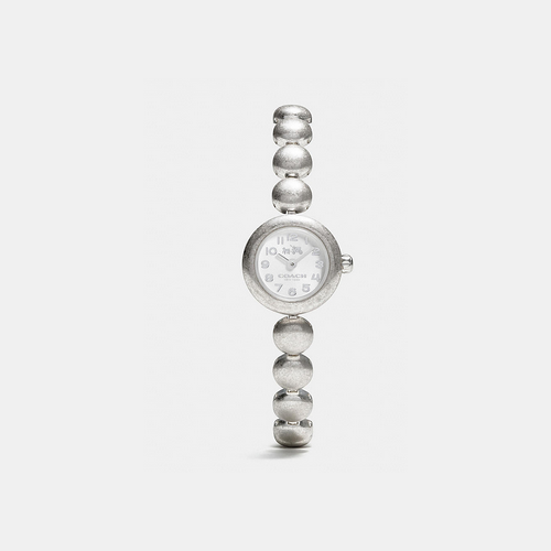 COACH rivet stainless steel studded bracelet watch STAINLESS STEEL