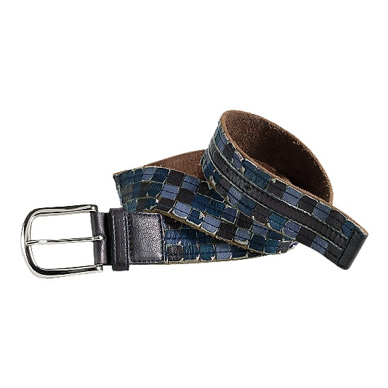 Cole Haan Salsbury Cove Belt Navy Multi