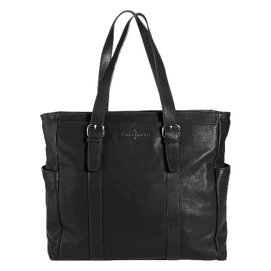 Cole Haan Trovato Zip Top Tote Black