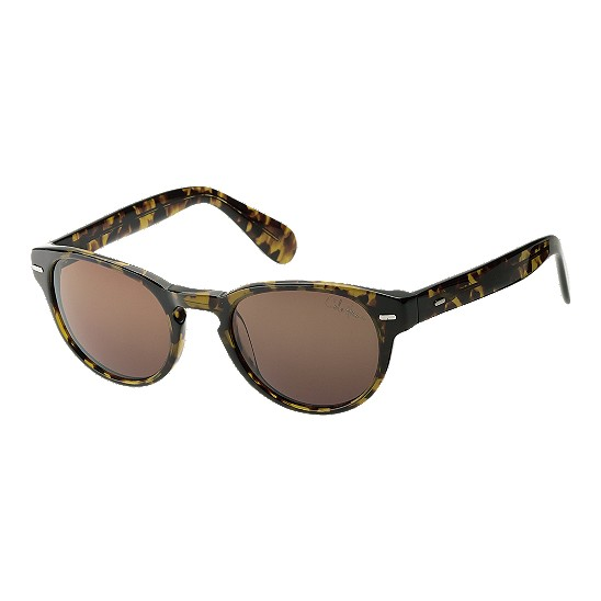 Cole Haan Acetate Round Keyhole Bridge Sunglasses Tortoise