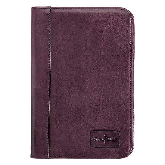Cole Haan Kindle Frame Cover Oxblood/Smoke
