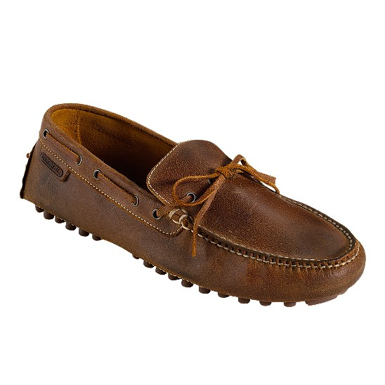 Cole Haan Air Grant Driving Moccasin Bark Suede