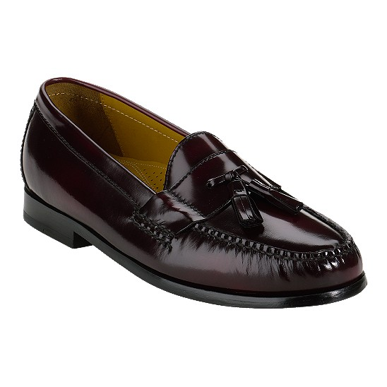 Cole Haan Pinch Air Tassel Burgundy