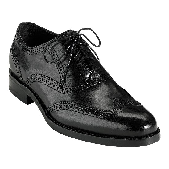 Cole Haan Air Madison Wingtip Oxford Black