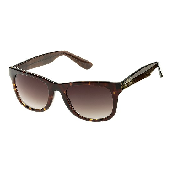 Cole Haan Tapered Square w/Logo Sunglasses Tortoise