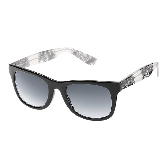 Cole Haan Tapered Square w/Logo Sunglasses Black