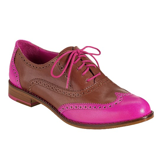 Cole Haan Skylar Oxford Sequoia/Rock Candy