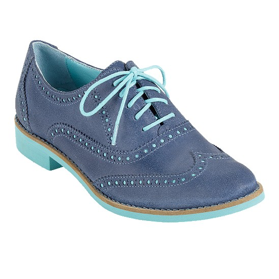 Cole Haan Alisa Oxford Harbour Blue/Candy Floss