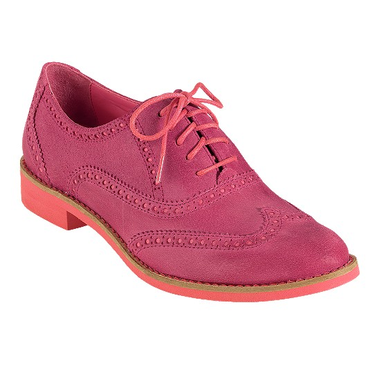 Cole Haan Alisa Oxford Rock Candy/Shrimp