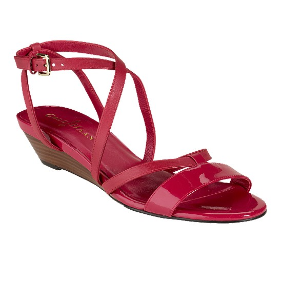 Cole Haan Air Kierin Sandal Tango Red/Tango Red Patent