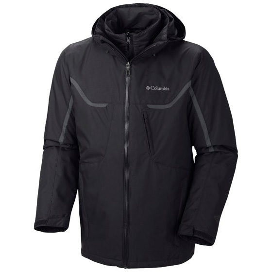 COLUMBIA MENS BUGABOO™ INTERCHANGE JACKET GRAPHITE