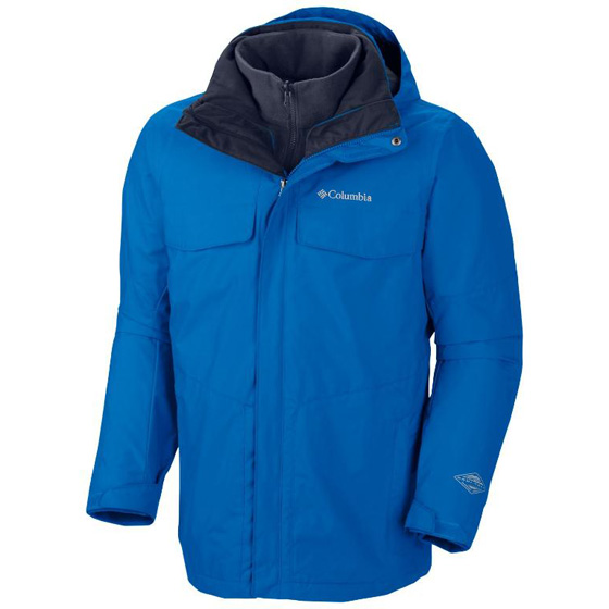 COLUMBIA MENS BUGABOO™ INTERCHANGE JACKET HYPER BLUE