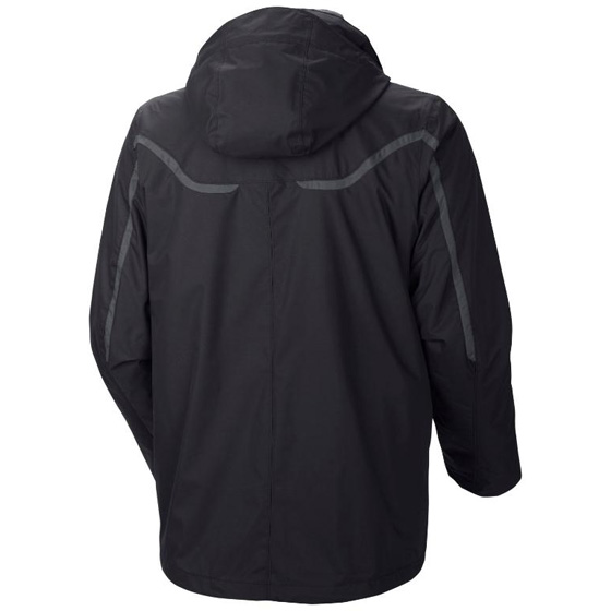 COLUMBIA MENS WHIRLIBIRD™ INTERCHANGE JACKET BLACK