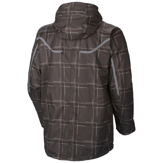 COLUMBIA MENS WHIRLIBIRD™ INTERCHANGE JACKET BLACK PRINT