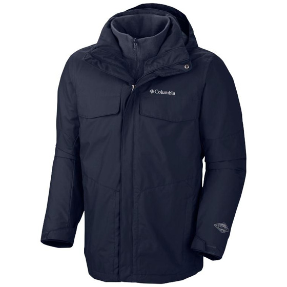 COLUMBIA MENS BUGABOO™ INTERCHANGE JACKET COLLEGIATE NAVY