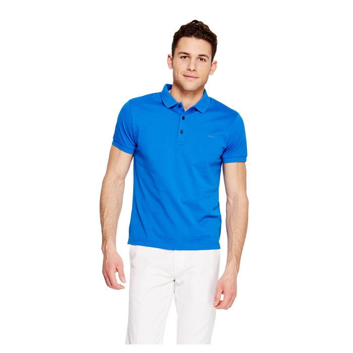 SAILOR BLUE DKNY CLASSIC COTTON POLO