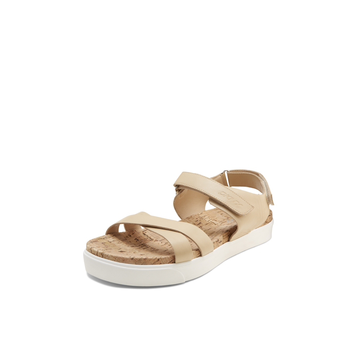 BUFF DKNY BRITTANY LEATHER SANDAL
