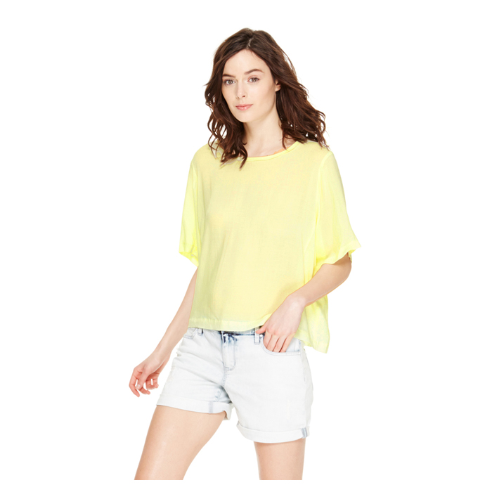 SUNBEAM DKNY DKNYPURE ELBOW SLEEVE TEE