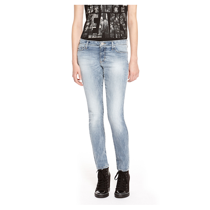 ICY BROOK WS DKNY JEANS AVENUE B ULTRA SKINNY, ICY BROOK