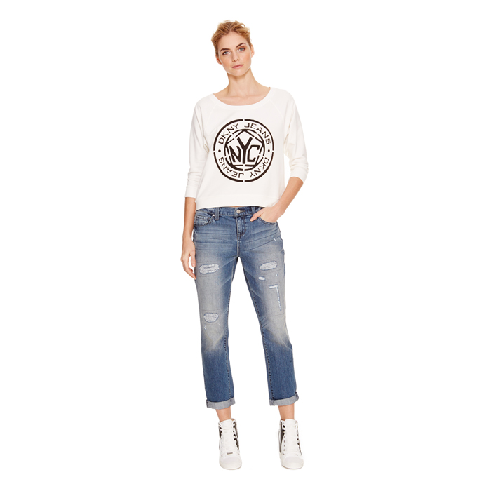 LAKE WASH DKNY JEANS BLEECKER BOYFRIEND, LAKE