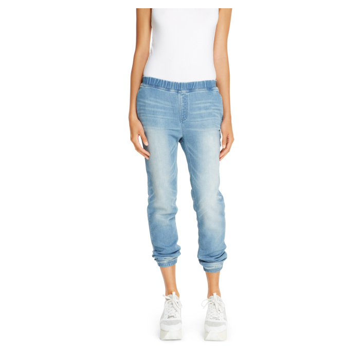 YOGA WASH DKNY JEANS KNITTED DENIM JOGGER