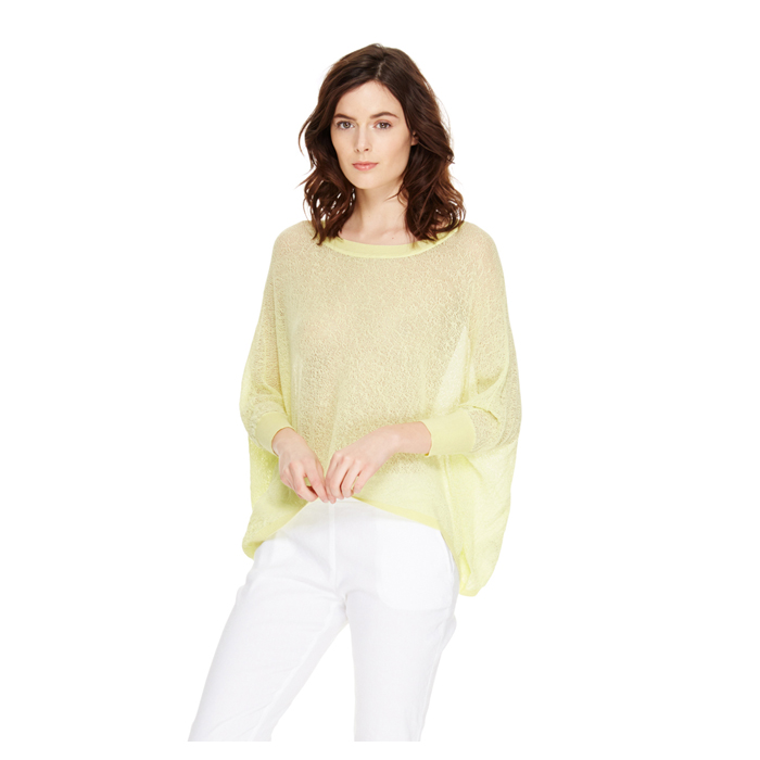 SUNBEAM DKNY DKNYPURE DOLMAN TRAPEZE PULLOVER