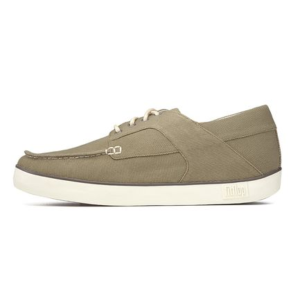 FITFLOP MONTY CANVAS DARK OLIVE