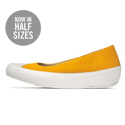 FITFLOP DUE CANVAS SUNFLOWER