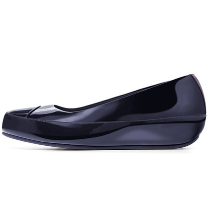 FITFLOP DUE PATENT INKY BLUE
