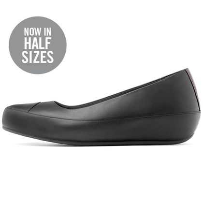 FITFLOP DUE LEATHER ALL BLACK