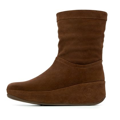 FITFLOP CRUSH BOOT CHOCOLATE