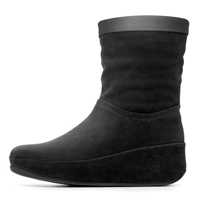 FITFLOP CRUSH BOOT BLACK