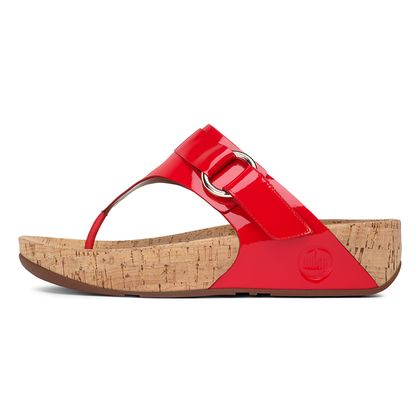 FITFLOP VIA PATENT FF RED
